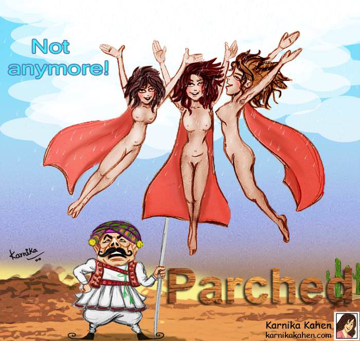 """Kanika says, """"Parched makes a strong statement about freedom from the patriarchal attitude of the Indian society."""""""
