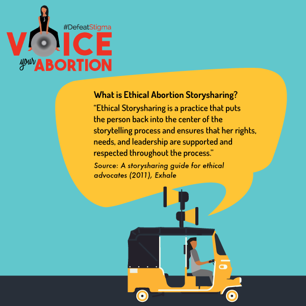 What is Ethical Abortion Storytelling?